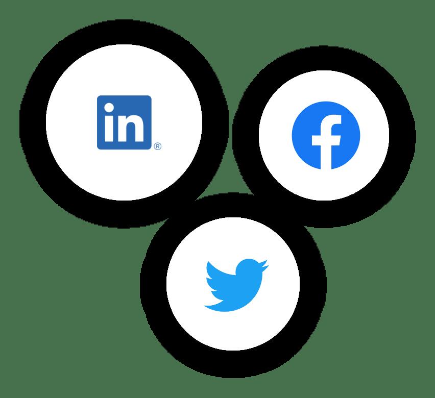 social logos min