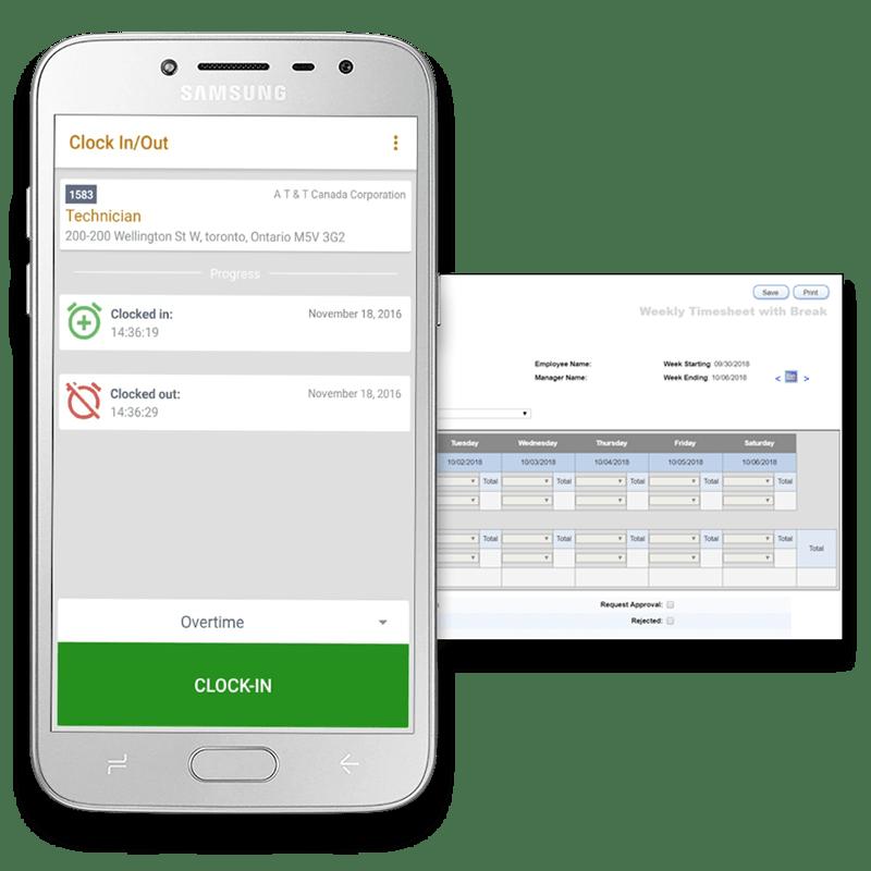 timetrack app